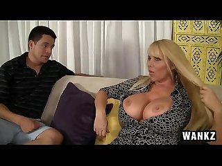 Bangmystepmom karen fisher voluptuous milf has sex with step son new wankz feb 11 2015 new