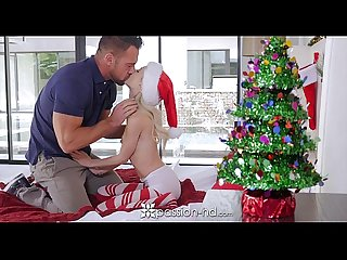 Passion Hd petite piper perri unwraps her wet gift on Xmas