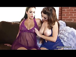 PentHouse Pet Jelena Jensen Massages Boobs w/ Taylor Vixen!