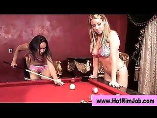 Black rimjob loving lesbian Bitch