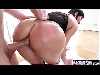 Hard Anal Sex On Cam With (shay fox) Big Butt Girl Oiled All Over clip-26