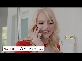 Naughty America - Kenna James fucks her friend's brother after a study break