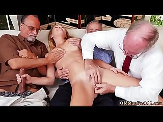 Family taboo old young and daddy compeer\'s daughter seduction first