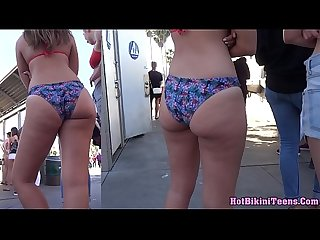 Amazing Hot Big Ass Bikini Beach Girl Voyeur Spycam Hidden HD Video