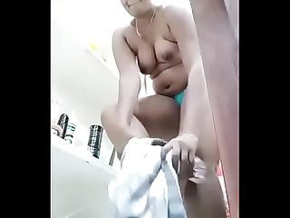 Swathi naidu sexy and exchanging dress part 2