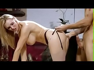Hot blonde milf fucked and jizzed on strapon milfgasm net
