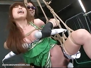Japanese bondage sex extreme bdsm punishment of asari pt 4