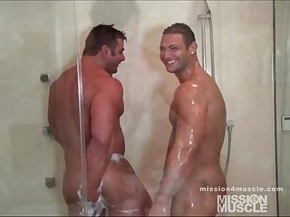 Dual muscle shower
