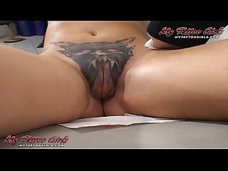 Extreme Model Alira Astro Gets Her Pussy Tattooed