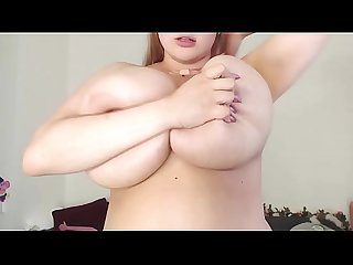 Russian Girl with a Huge white breasts