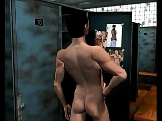 The shower story 3d gay Cartoon comics