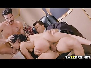 Kristina rose s holes got two big cocks that pounded her