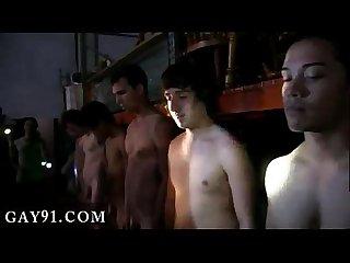 Man fucks Twink boy gay porn and bald Twink boy black so the guys at