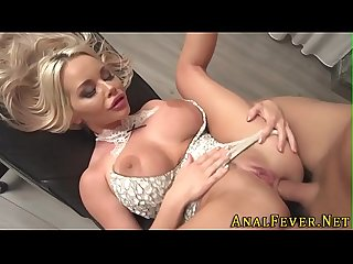 Busty blondes butt fucked