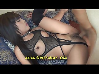 Sperm splattered on lovely asian face