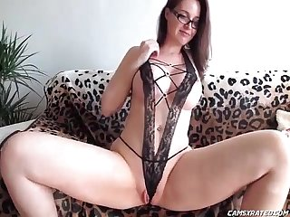 Hot big tits teacher toying her holes camsxrated com
