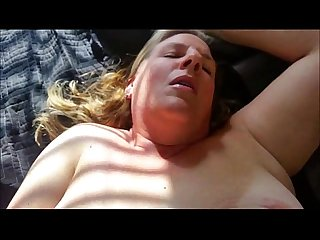 Mature bbw interracial closeup anal