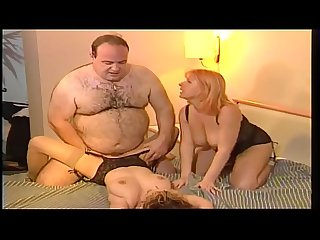 Teen and milf threesome old man