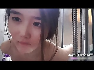 Hot beautiful korean girl bathing in bathroom full javshare99 net