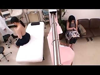 Japanese EP-1 Mother and Daughter Hospital Visit, Male Doctor Sexual Abuse, Act - 1 of 2
