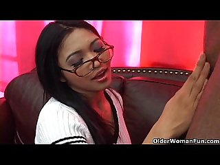 Asian soccer mom Mika tan gets facial