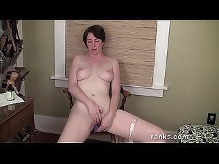 Milf from yanks inara byrne toys her cooter