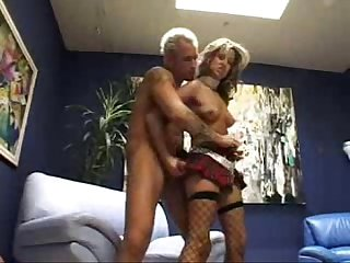 Latin slut on a fishnet