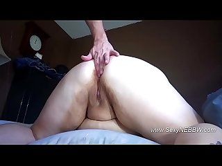 Sexy BBW Anal Cone and Butt Fucked