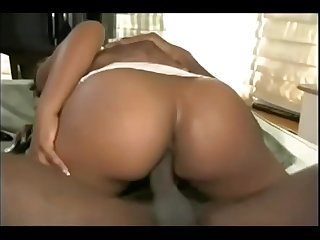 Gorgeous caribbean babe gets butt fucked