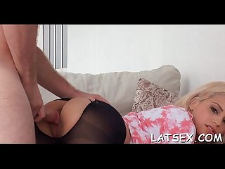 Intoxicating and wild cowgirl riding