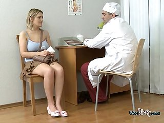 Curvaceous chick petra tastes cum of doctor