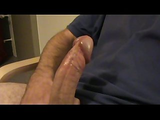 Masturbating and cumming on my shirt