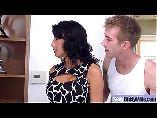 (lezley zen) Busty Hot Mature Housewife Get Sluty In Hard Sex Scene mov-21