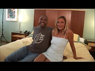 Milf gets banged by big black dick in mature interracial video