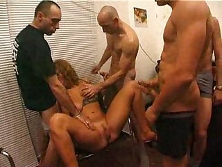 Group fuck amateur casting milf