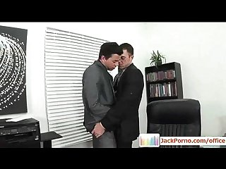 Office Cock - Gay Gays Fucked in The Office - video11