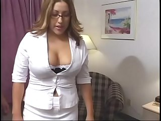 Big tits blonde getting her wet pussy boned