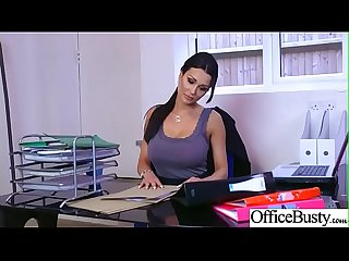 Slut sexy girl patty michova with big round boobs in sex act in office video 22