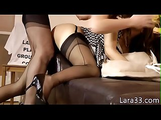 Classy sappho milf feasting on babes pussy