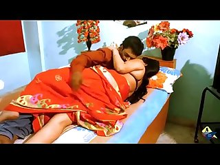 Indian desi aunty seducing fuck by boyfriend in bedroom
