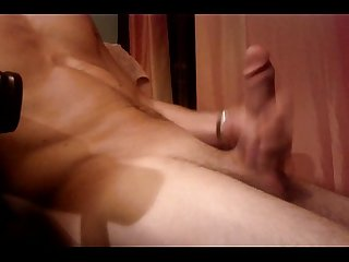 Stroking my cock 2