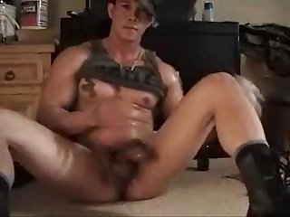 Muscle prince cumming 4 times