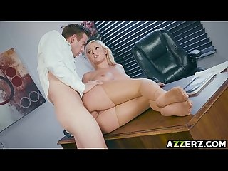 Hot secretary kylie page hardcore office fuck