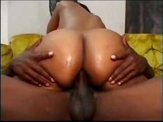 Sexy massive black ass drilled by thug