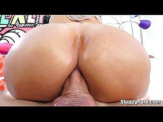 Nina elle Wet anal