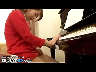 Japanese teen fucked by piano teacher more at elitejavhd com