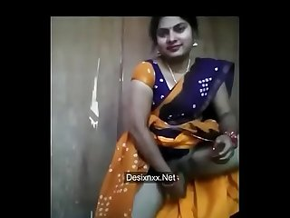 Hot nd sexy married Desi Bhabhi in saree masturbating her hairy wet pussy with cucumber as dildo on