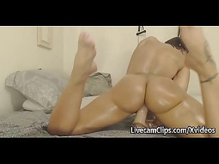 Amazing big ass on cam Twerk and ride