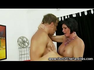 Amateur stepmother hard fuck