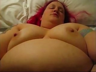 Lauren fat whore creampie thanks to broken Condom